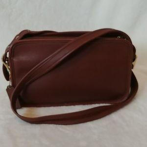 Vintage Brown Legacy East West Compartment Bag